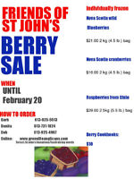 Friends of St John's (FOSJ) Berry Campaign