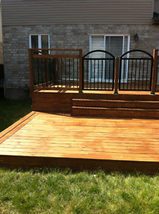 C.M  DECKS AND PATIOS