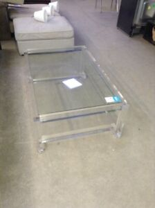 22d679489c3c Acrylic and glass coffee table