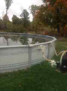 28' swimming pool with pump, filter, and accessories Kingston Kingston Area image 5