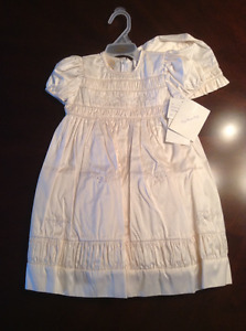 Girl Baptism Dress size 12 Months Brand New
