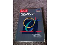 As & A level Chemistry Revision book by Longman