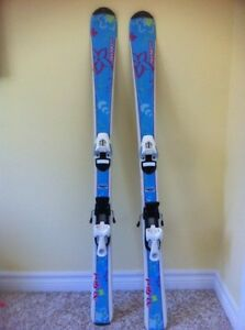 Girls downhill skiis 120cm