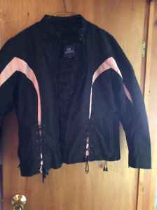 Ladies light weight motor cycle jacket
