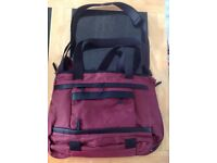 Thorsbrenner 4 in 1 changing bag in burgundy red