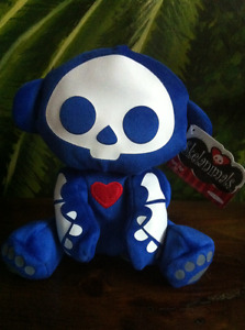 NWT Skeleanimals Skele Animal Skeleton Plush Collectable Toy Hrt