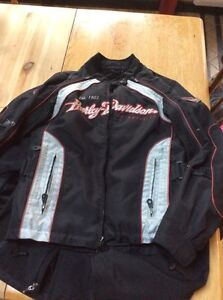 Manteau Harley Davidson 3 dans 1 tissus femme