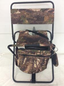 Camo hunting chair