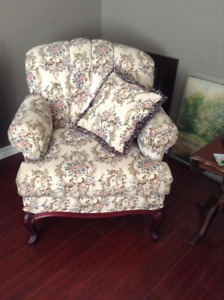 Two Loveseats and Armchair