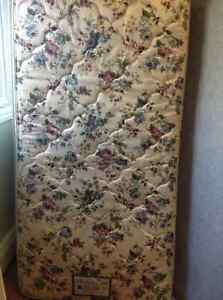 single mattress and boxspring delivery included