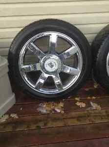 Escalade rims 22 new tires London Ontario image 3