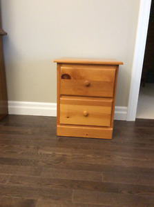 Solid Pine Dresser, Hutch, end tables