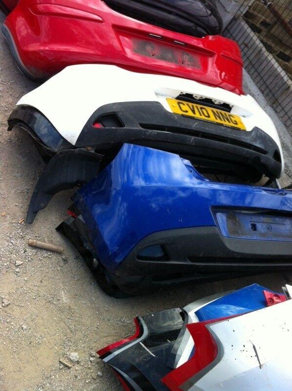 Mazda 2 2008-2014 rear bumper £15