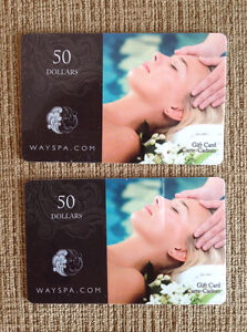 Way Spa Gift Certificates