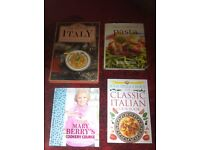 x4 Large Cookery Books Brand New Hard Backs (worth £75+) - £12 the lot