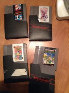 Cassettes jeux Nintendo
