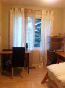 Sunny & clean room in markham