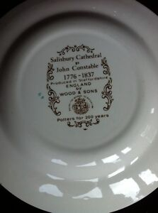 Wood & Sons- Staffordshire England  Collector Plates London Ontario image 7