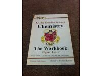 GCSE Double Science Chemistry workbook at higher level by CGP
