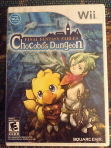 Final Fantasy : Chocobo's Dungeon Wii