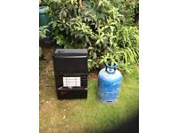 Calor Gas Heater and gas bottle