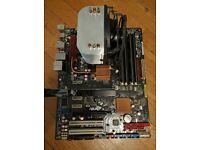 bundle , Motherboard Asus P5Q Pro , CPU Xeon X5460 4.2Ghz , 8gb ram
