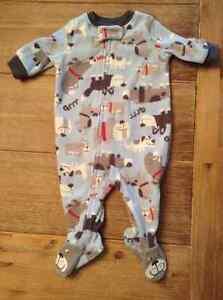 Pyjamas longs pour garcon 3 mois