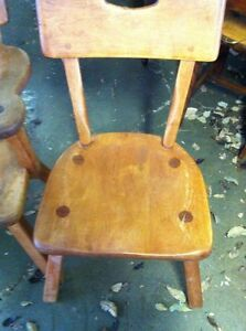 Imperial Loyalist Maple Chair Set  London Ontario image 3