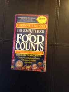 """""""THE COMPLETE BOOK OF FOOD COUNTS"""""""