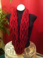 Handmade Arm Knit Scarves