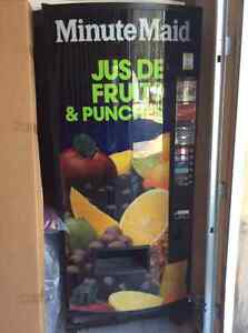 Coin operated Minute Maid pop/juice machine