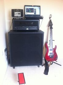 Guitar head + cabinet