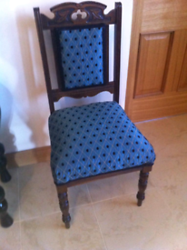 Newly covered chair