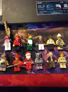Assorted Lego Minifigures and collectible sets