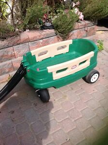 Little tikes wagon  with removable sides $25