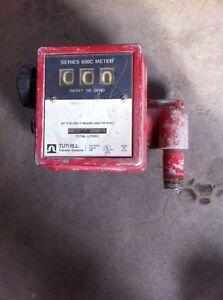 Compteur de litre pour pompe a gaz ou diesel