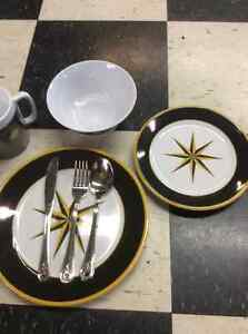 For Sale Nautical theme dishes and flatware