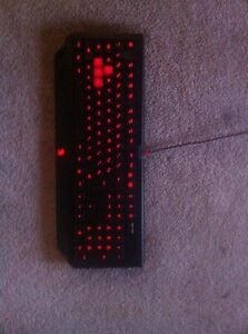 Biogenic LED gaming keyboard ( great condition just want sold)