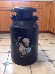 Painted Antique Milkcan