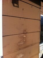 """12"""" profile exterior wood or x90 siding"""
