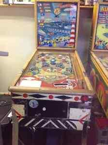 Gottlieb's 1956 Harbor Lites Pinball Machine