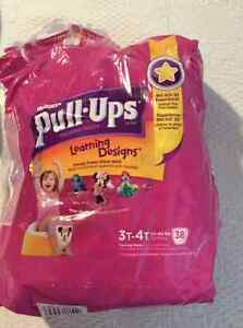 GIRL'S PULLUP SIZE 3T-4T