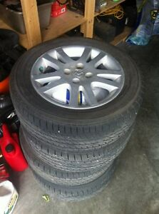 """New 15"""" Tires with Rims"""