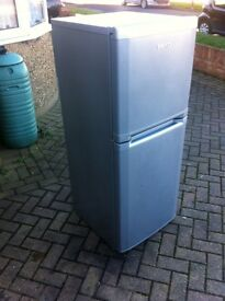 SILVER BEKO FRIDGE FREEZER