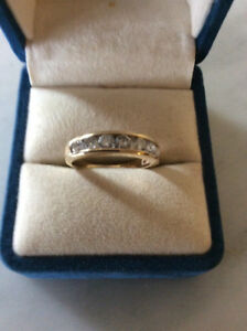 14kt. Diamond anniversary band 1 carat