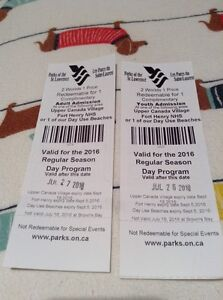 Upper Canada Village or Fort Henry Tickets