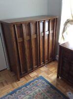Bed room set solid wood 2 end tables 5142605594