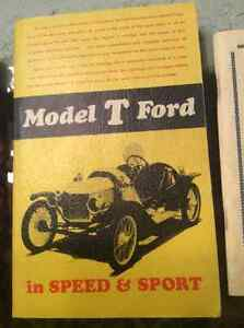 Model T's literature .Quite fascinating to see some of the old p