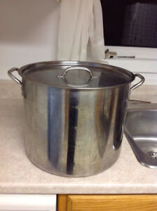 Commercial Quality Stock Pot