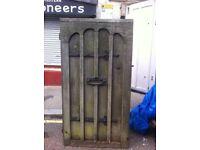 Solid Oak Door : 7ft x 3ft : free Glasgow delivery